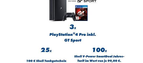 Falken Gewinnspiel Sony PS4 und Tankgutscheine gewinnen