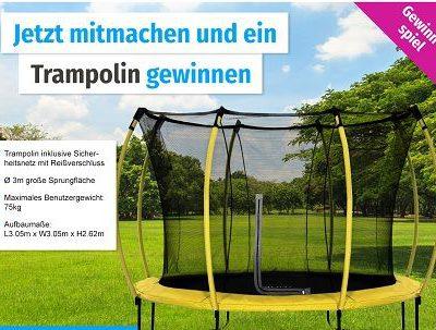 GartenXXL Gewinspiel Trampolin gewinnen