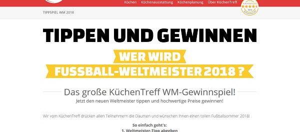 Küchentreff WM Tippspiel 2018