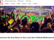 Kaufland Reise Gewinnspiel WM 2018