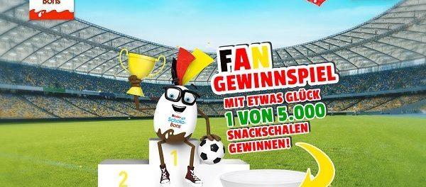 Kinder Schoko-Bons WM Gewinnspiel 5.000 Preise