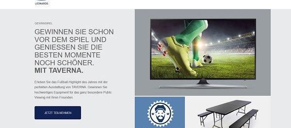 Leonardo Gewinnspiel Samsung 55 Zoll TV