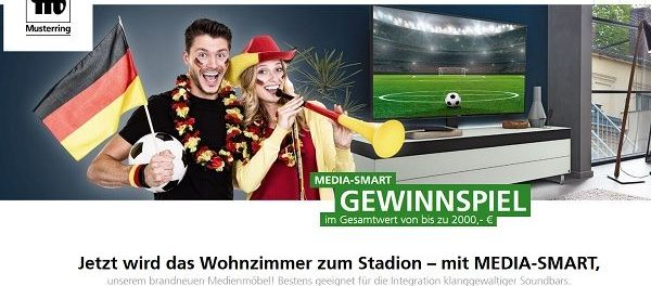 Musterring Gewinnspiel 2.000 Euro Media-Smart Gutschein