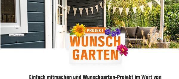Obi Wunschgarten Gewinnspiel 5000 Euro Projektzuschuss