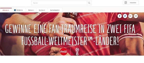 REWE und Coca Cola Gewinnspiel Traumreisen Weltmeisterländer 2018