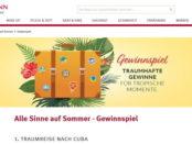 Rossmann Gewinnspiel Kuba Reise und Kurzurlaub Tropical Islands Resort