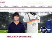 Rossmann Nivea Men Gewinnspiel Jogi Löw Trikots