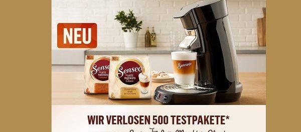 Senseo Kaffeepads Gewinnspiel 500 Testpakete