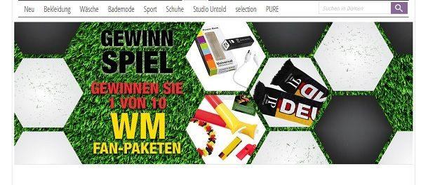 Ulla Popken Gewinnspiel WM Fan-Pakete