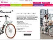 Victoria E-Bike Gewinnspiel Diamant Bike Retro-Look