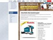 Westfalia Gewinnspiel Mai 2018 Makita Akku-Schlagschrauber