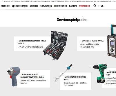 Winkler Werkzeug Gewinnspiel Steckschlüssel Set und Makita Baustellenradio