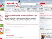 aponet Gewinnspiel Mai 2018 500 Euro Bargeld gewinnen