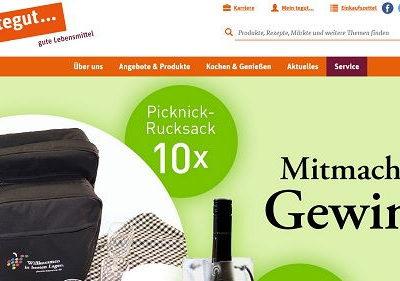 tegut Gewinnspiel Picknick Rucksäcke und Weinkühler
