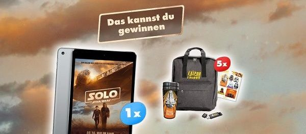 toggo Star Wars Gewinnspiel Appel iPad mini