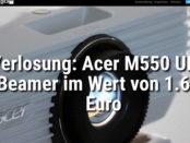 Acer Beamer Gewinnspiel langweiledich.net