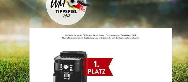 Adler Mode WM Tippspiel Gewinnspiel 2018