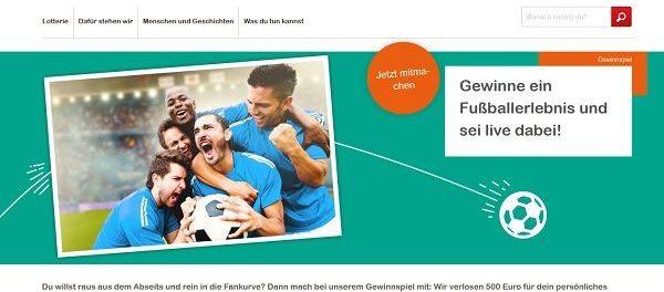 Aktion Mensch Gewinnspiel 500 Euro Bargeld