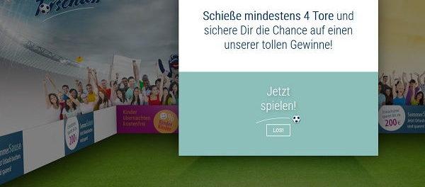 Aldiana WM Gewinnspiel Torschuss 2018