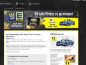 Auto-Gewinnspiel Edeka und Krombacher BMW 2er Cabrio
