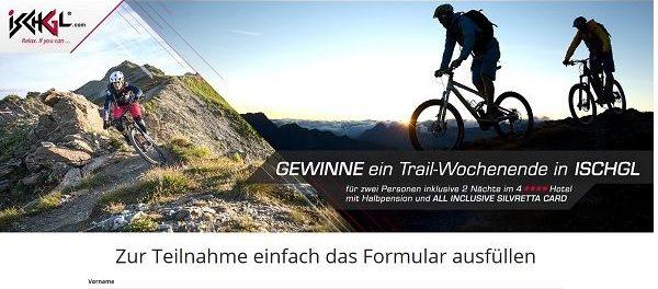 Bike Exchange Gewinnspiel Trail-Wochenende in Ischgl