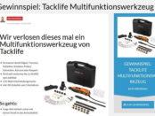 Bomaoo Gewinnspiel Tacklife Multifunktionswerkzeug