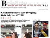 Brigitte Gewinnspiel 500 Euro Saturn Gutschein