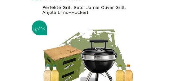 Couchstyle Gewinnspiel Jamie Oliver Grill-Set