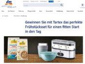 DM und Tartex Gewinnspiel WMF Joghurtbereiter
