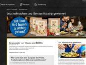 Edeka und Hilcona Gewinnspiel Hamburg Koch-Event Reise