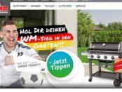 Finke WM Tipp-Gewinnspiel Weber Gasgrill