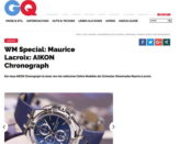 GQ Magazin Gewinnspiel Maurice Lacroix Chronograph
