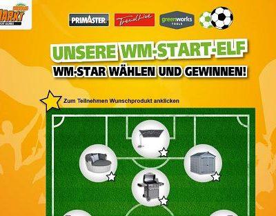 Globus Baumarkt WM Gewinnspiel Wunschpreis gewinnen