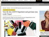 Grazia Magazin Gewinnspiel Anny Nagellack verlost Vespa Motorroller