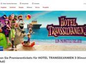 Kaufland Gewinnspiel Hotel Transsilvanien 3 Kinostart