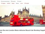 Kaufland Gewinnspiel London Reise und Cocktail Abend