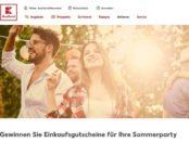 Kaufland Sommerparty Gewinnspiel 500 Euro Gutschein