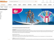 Müller und BIC Gewinnspiel Sport Stand Up Paddle Wert ca. 1000 €
