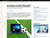 Netzwelt und Huawei Gewinnspiel Notebook MateBookX