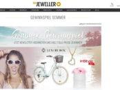 Sommer-Gewinnspiel The Jeweler Damenfahrrad und Schmuck