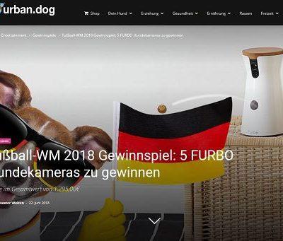 Urban Dog WM Gewinnspiel 5 Furbo Hundekameras