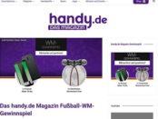 handy.de WM Gewinnspiel Huawei Smartphone gewinnen