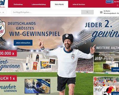 real WM Gewinnspiel täglich 55 Zoll Fernseher gewinnen