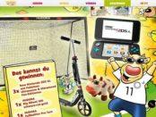 toggo Gewinnspiel Nintendo 2DS XL und Hudora Roller