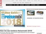 Auto Bild Gewinnspiel Leserwahl Das goldene Reisemobil 2018