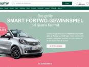 Auto Gewinnspiel Galeria Kaufhof Smart Fortwo gewinnen