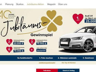 Auto-Gewinnspiel Küchenquelle Audi A1 gewinnen