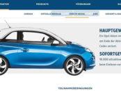 Auto Gewinnspiel Landskron Opel Adam Kronkorken Code 2018