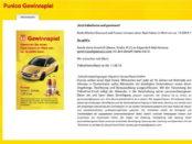 Auto Gewinnspiel Netto und Punica Opel Adam gewinnen