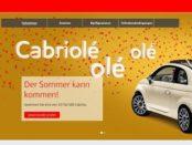 Auto Gewinnspiel Sparkasse und Esso 10 Fiat 500 Cabrios